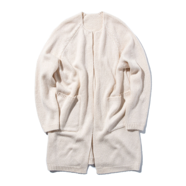 [STAND OUT STORE] 4G KNIT COAT 'ECRU'
