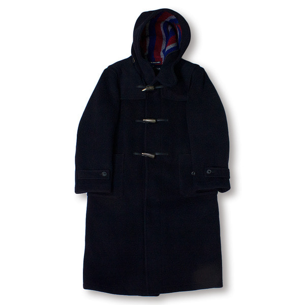 [LONDON TRADITION] R004 MENS LONG DUFFLE 'NAVY FLAG 26'