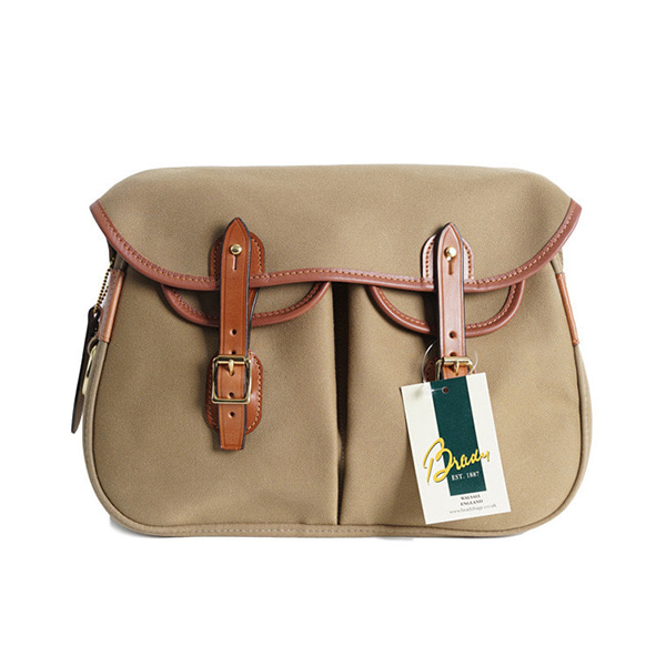 [BRADY BAGS] SMALL ARIEL TROUT FISHING BAG 'KHAKI'