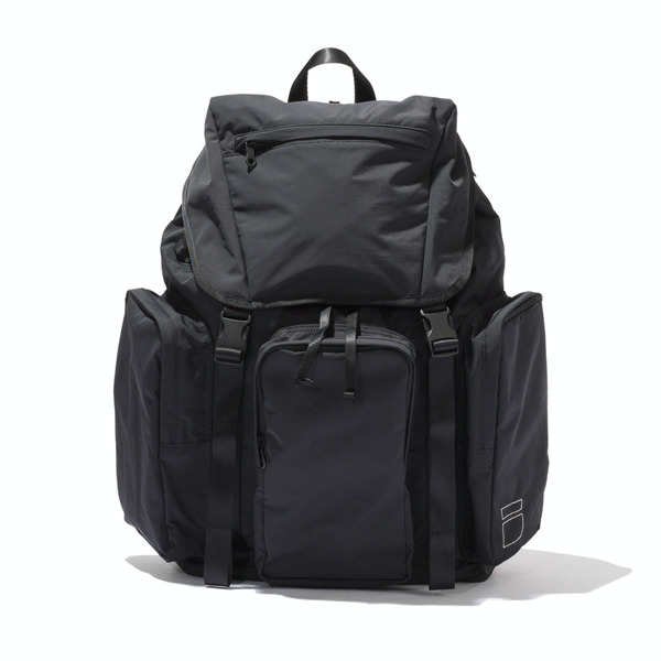 [BLANKOF] PLG 01 28L DOUBLE CLASP PACK 'BLACK'