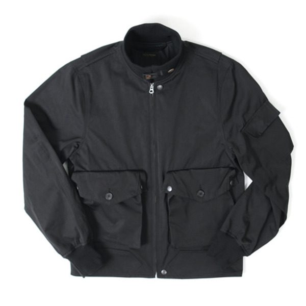 [OUTSTANDING] AVIATOR POCKET JACKET 'BLACK'