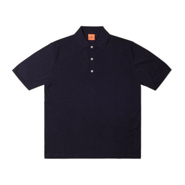 [ANDERSEN-ANDERSEN] S/S POLO SHIRTS 'NAVY BLUE'