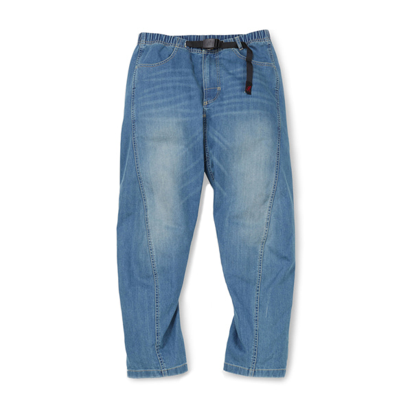 [GRAMICCI] DENIM DRAPING PANTS 'MEDIUM USED'