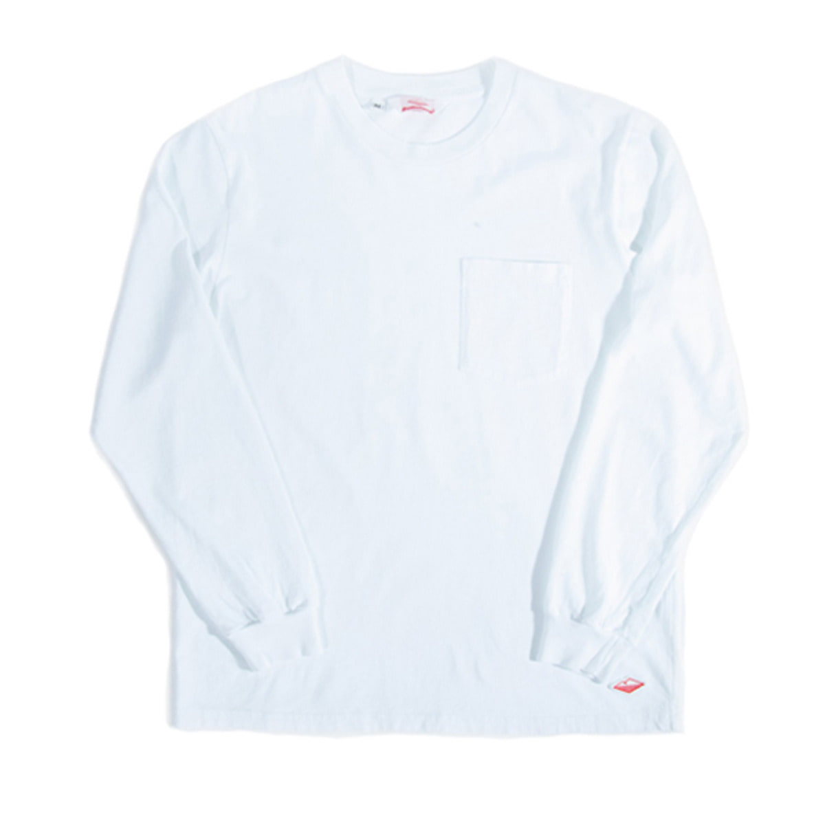 [BATTENWEAR] L/S POCKET TEE 'WHITE'