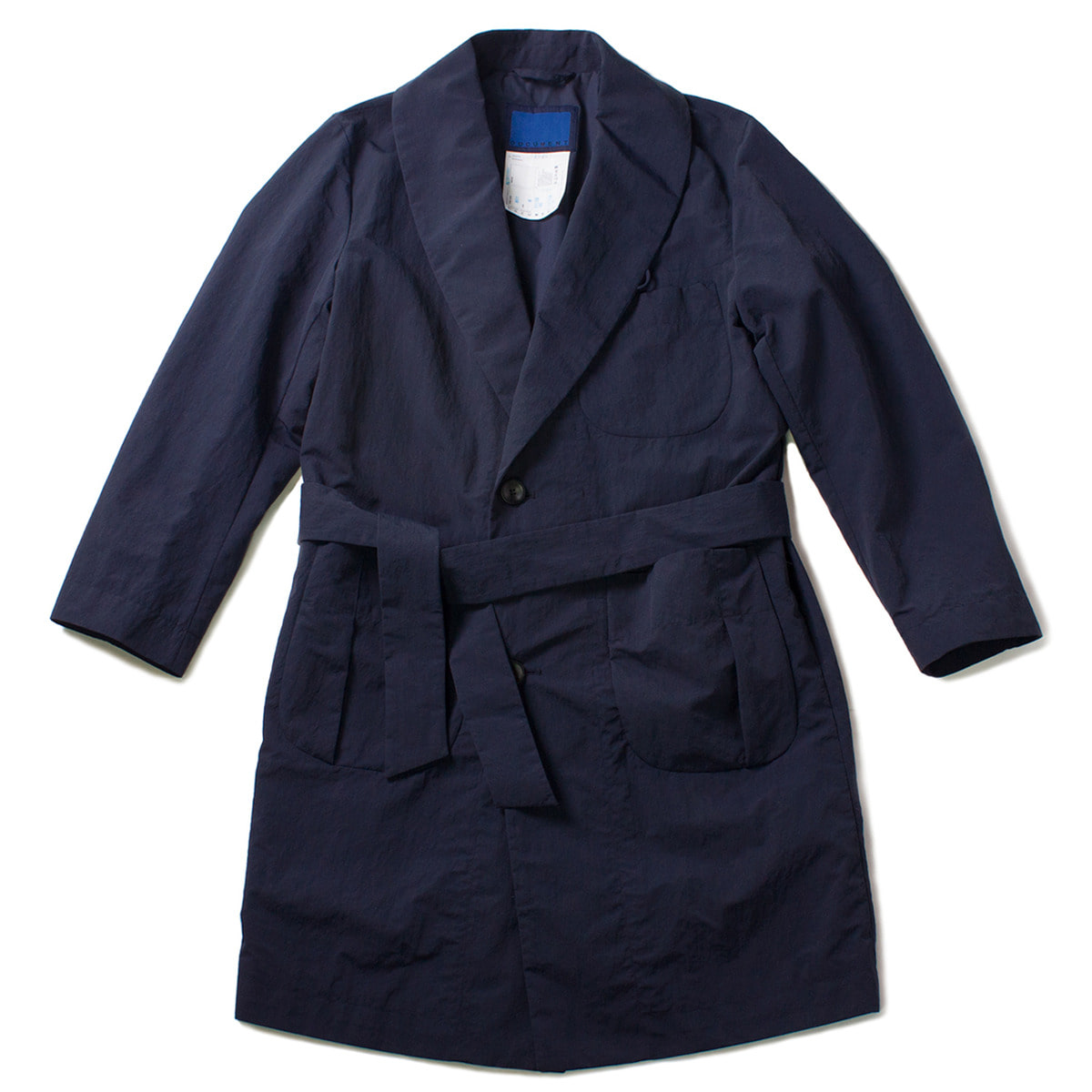 [DOCUMENT] M65 DOCUMENT NYLON ROBE COAT 'NAVY'