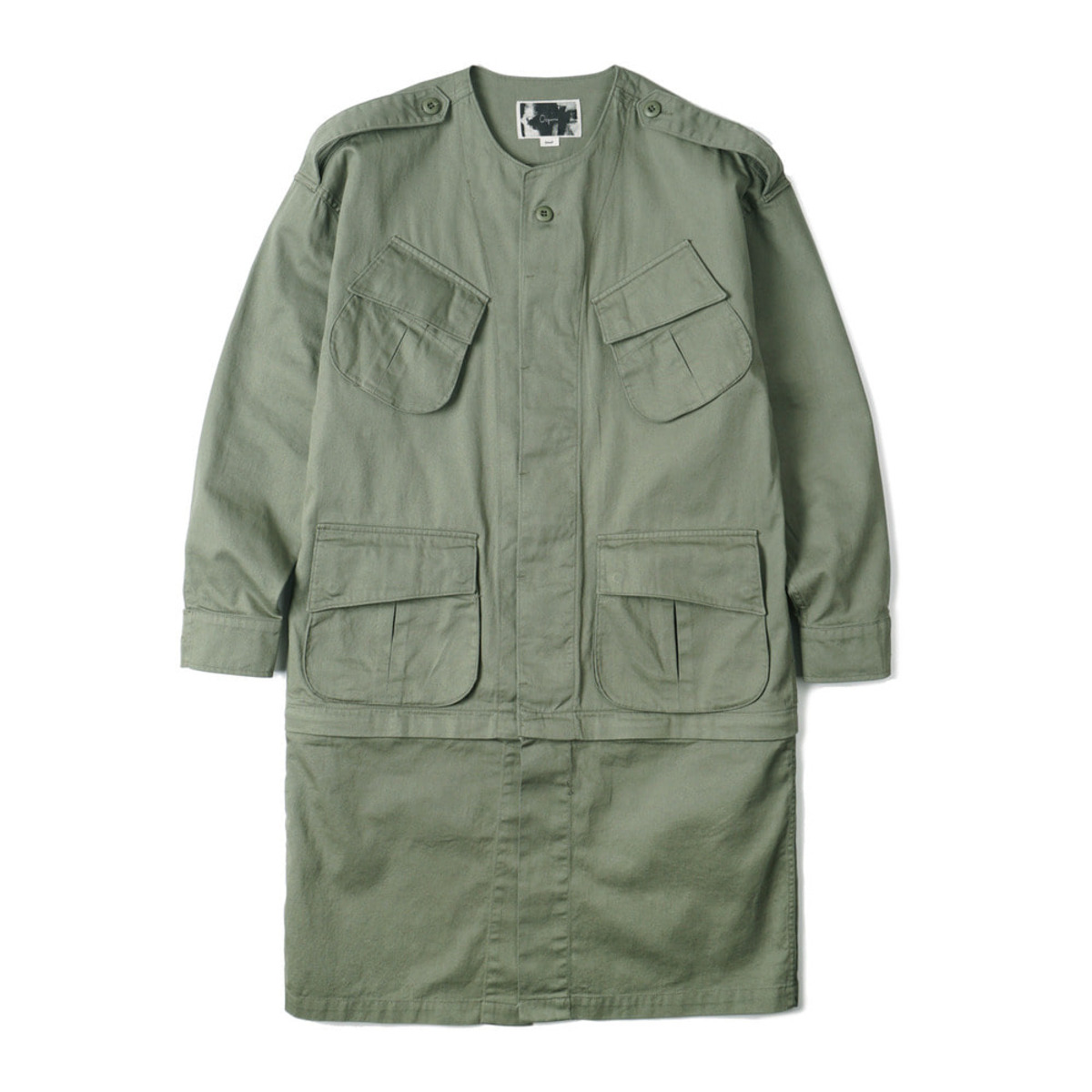[OOPARTS] COMBAT TROPICAL JACKET 'OLIVE'