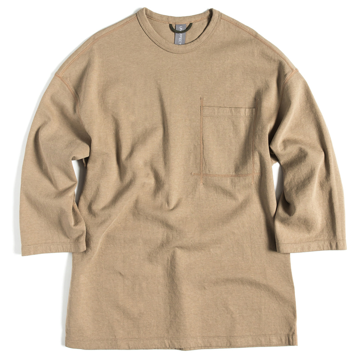 [UNAFFECTED] OVERSIZED CREWNECK TEE 'BEIGE'