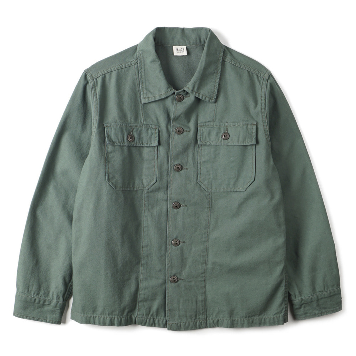 [YMCL KY] TYPE OG-107 FATIGUE SHIRTS 'GREEN'