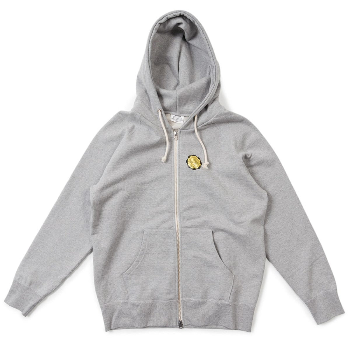 [BIGUNION] GYM SWEAT PARKA 'GREY'
