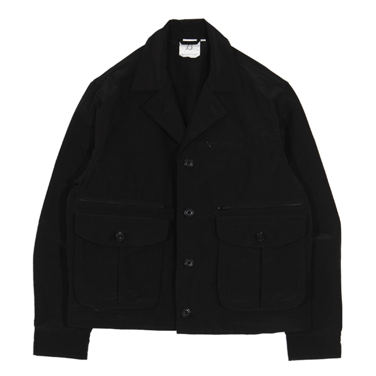 [BROWNYARD] MULTI POCKET JACKET02 'BLACK'