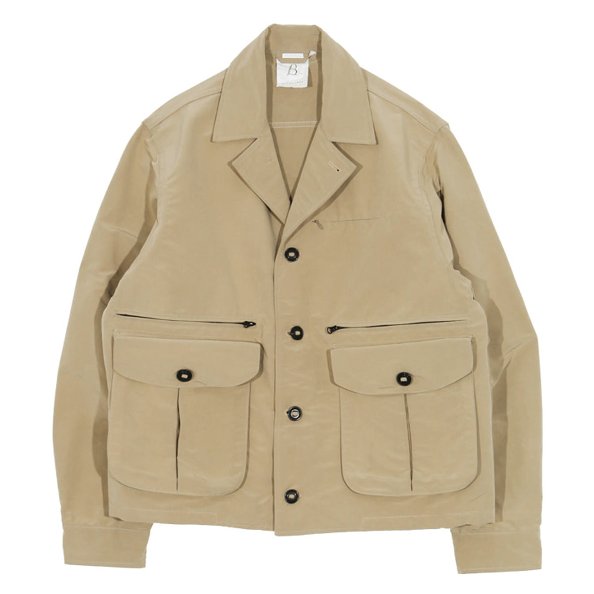 [BROWNYARD] MULTI POCKET JACKET02 'BEIGE'