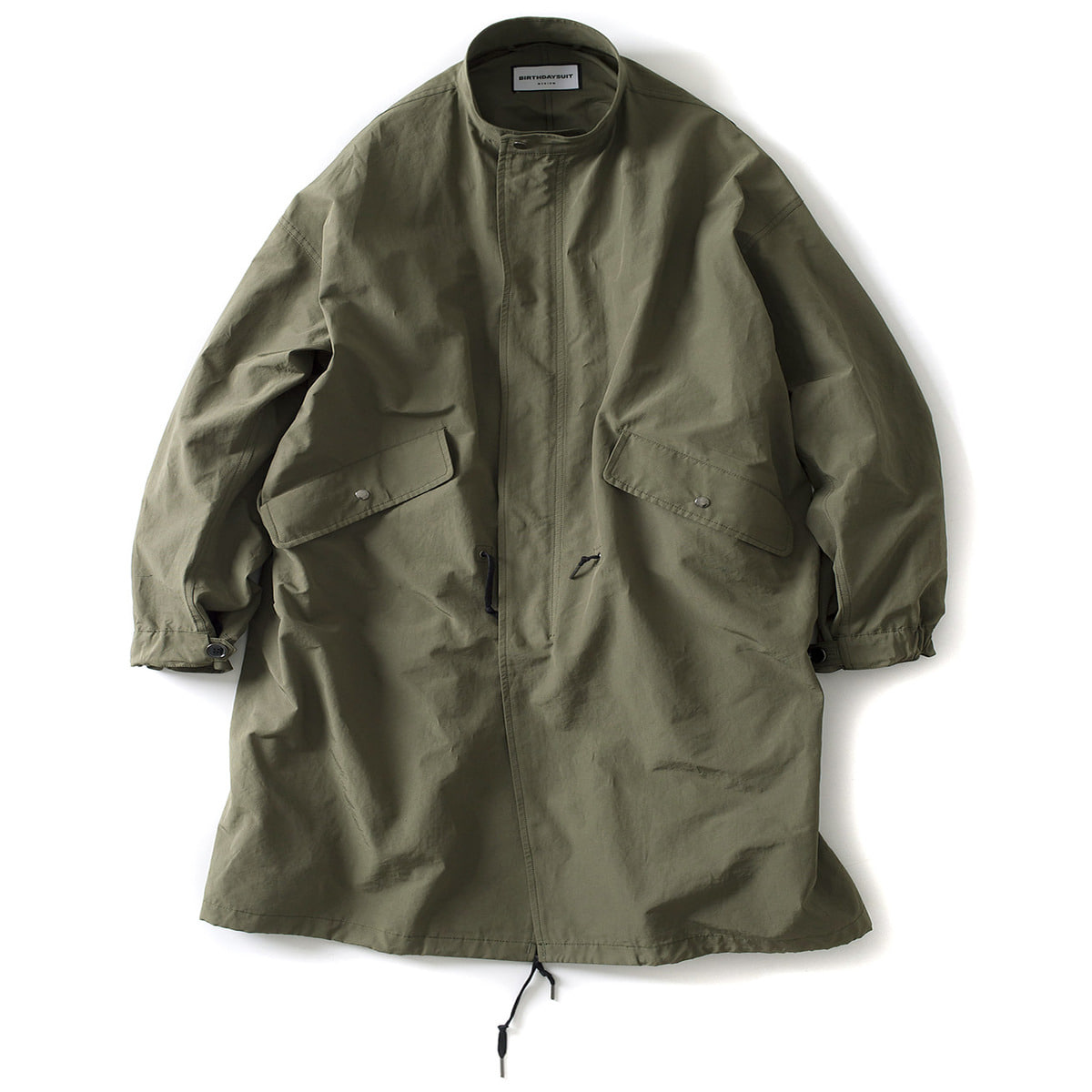 [BIRTHDAYSUIT] FISHTAIL PARKA 'OLIVE'