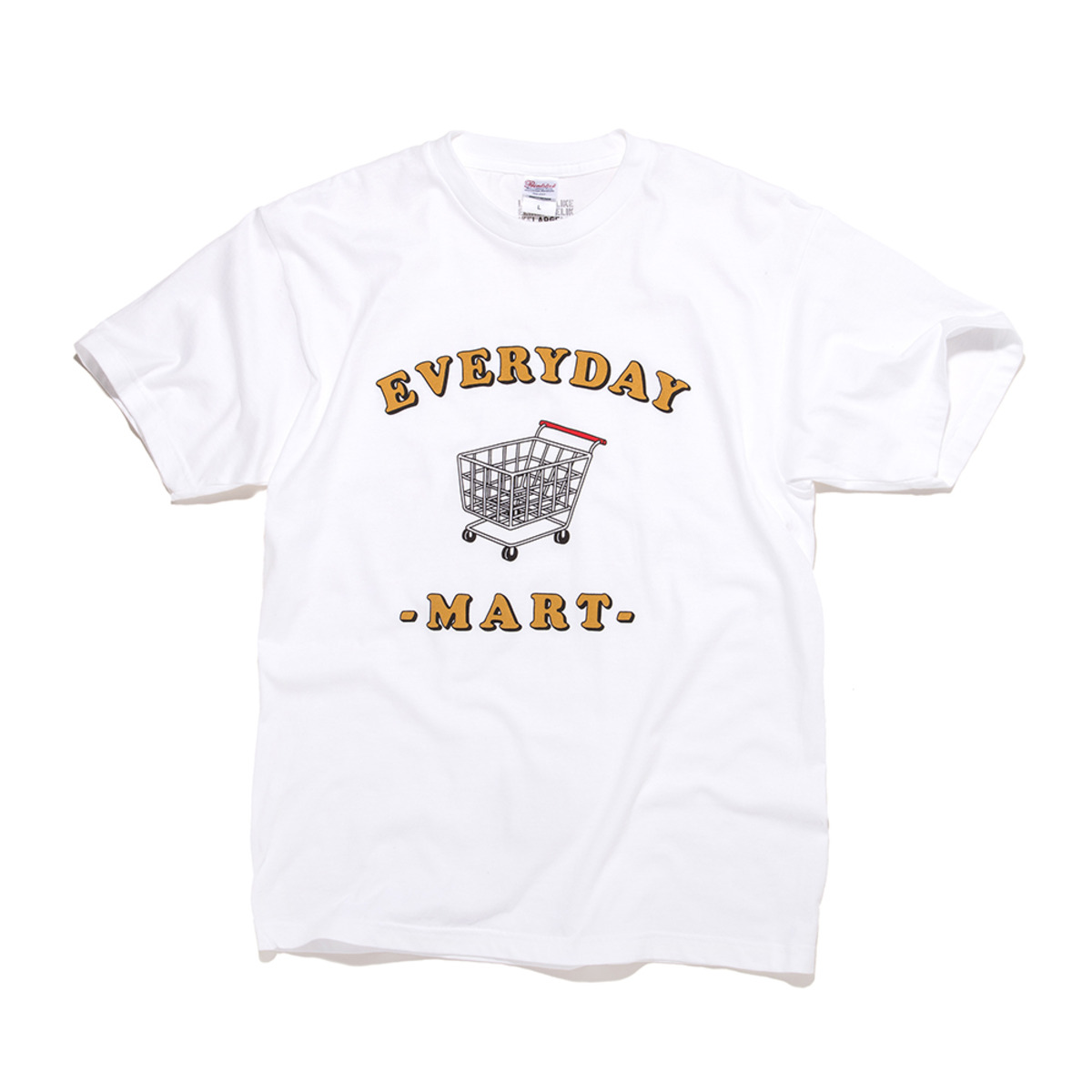 [BIG WAVE] EVERYDAY MART TEE 'WHITE'