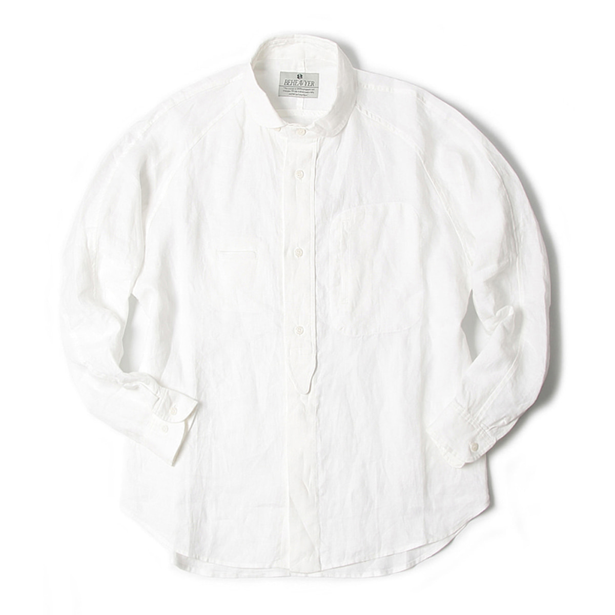 [BEHEAVYER] DAY SHIRT 'WHITE'