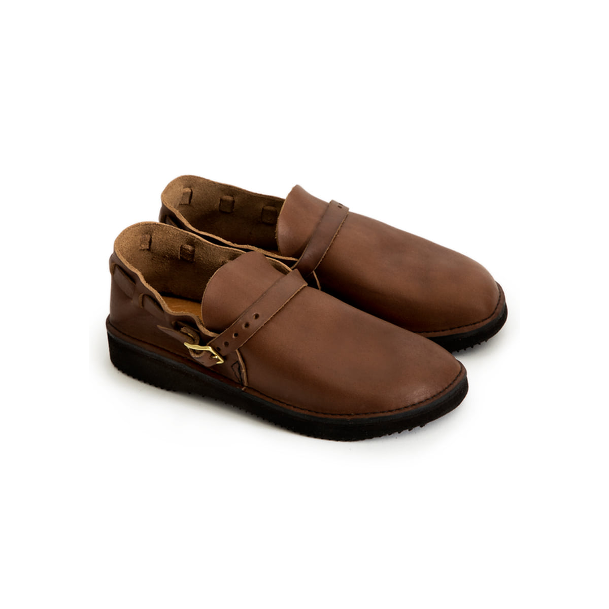[AURORA SHOE CO.] M.Middle English 'BROWN'