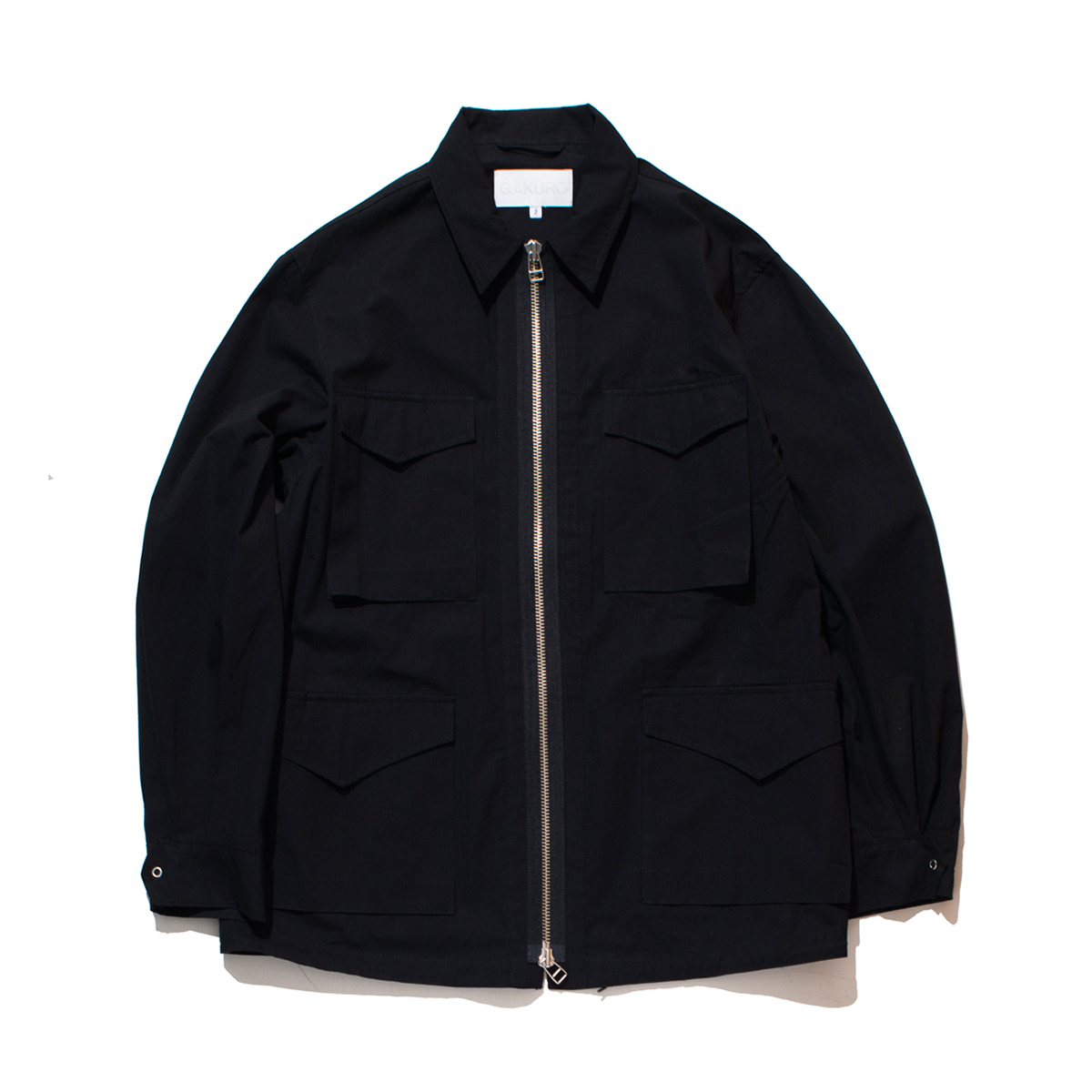 [GAKURO] FIELD JACKET 'BLACK'