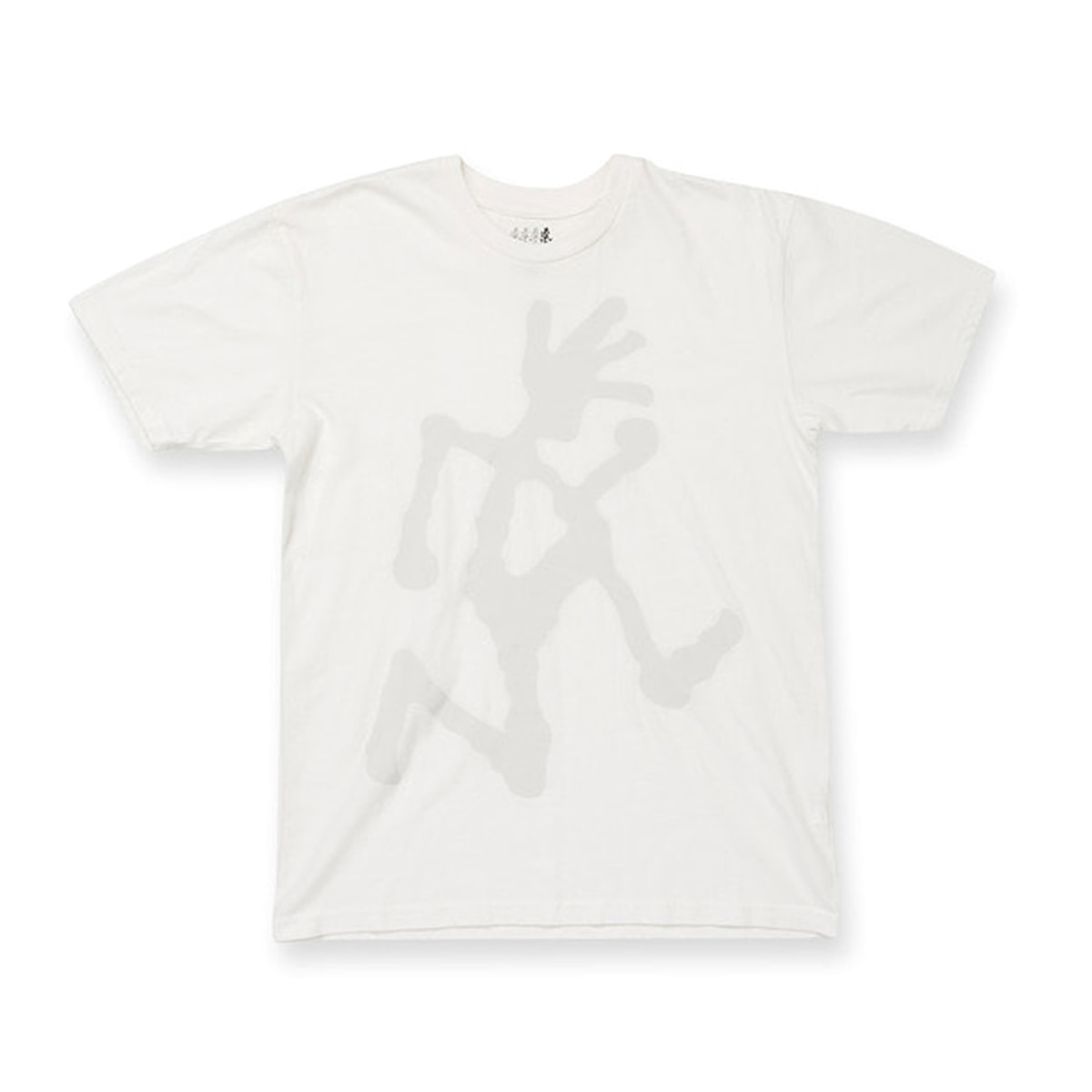 [GRAMICCI] BIG LOGO T-SHIRTS 'WHITE'