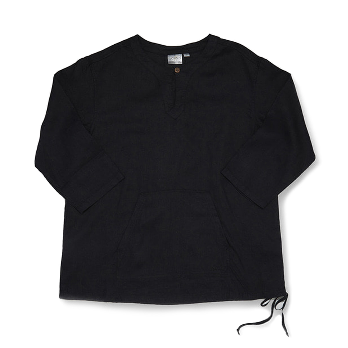 [GRAMICCI] LINEN SKIPPER SHIRTS 'BLACK'