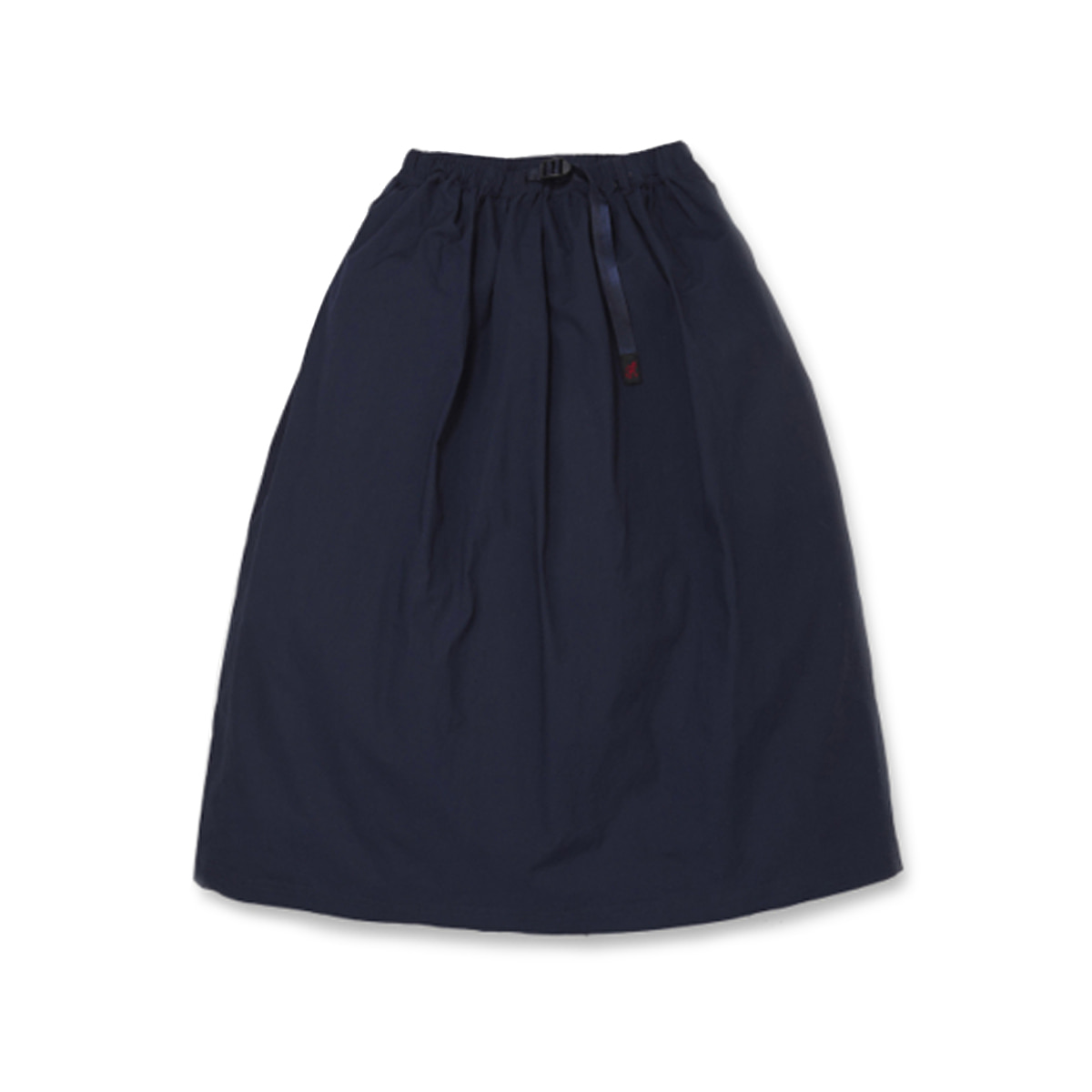 [GRAMICCI] WEATHER LONG FLARE SKIRT 'DOUBLE NAVY'