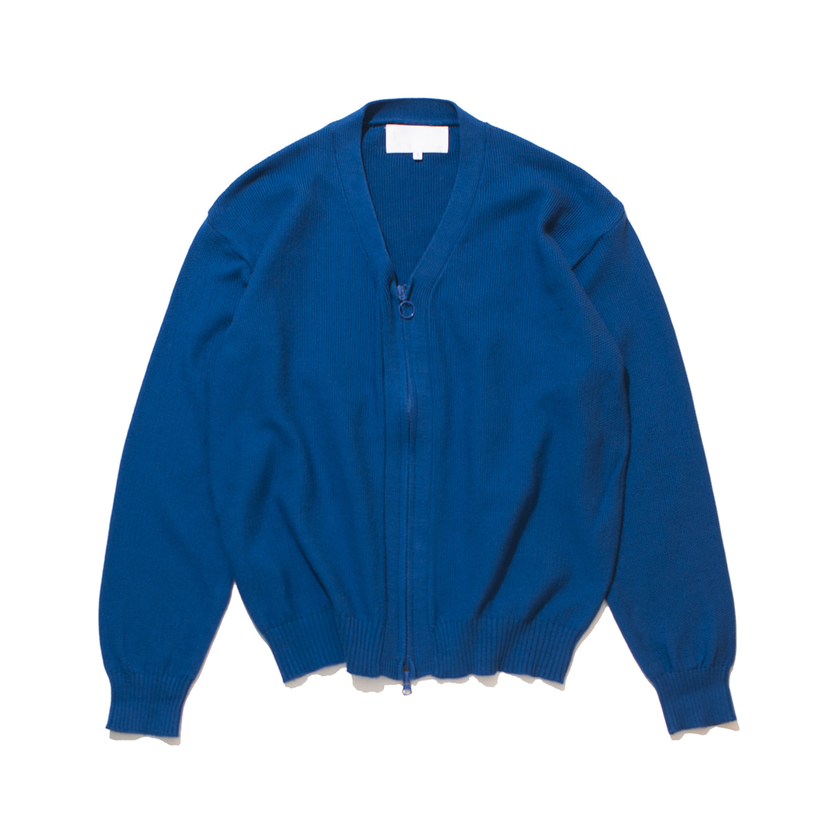 [GAKURO] ZIPPERED CARDIGAN 'BLUE'