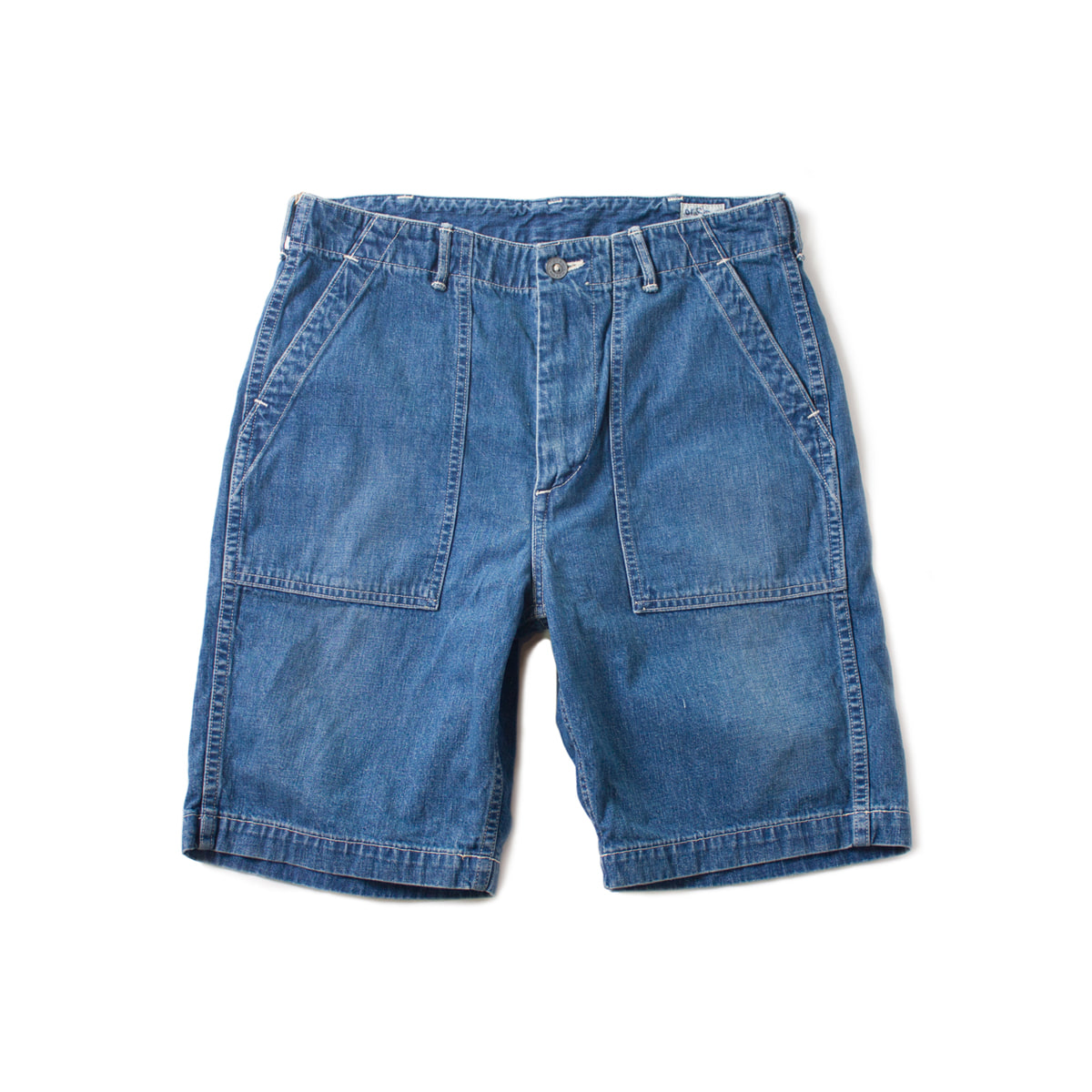 [ORSLOW] FATIGUE DENIM SHORTS '2YEAR'