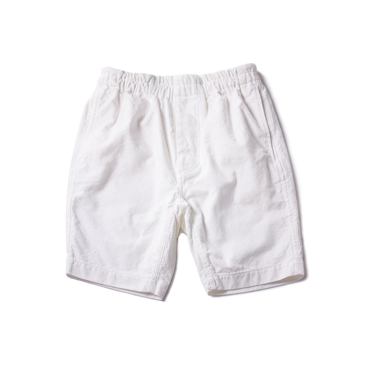 [DOCUMENT] U104 HERRINGBONE SHORTS 'WHITE'