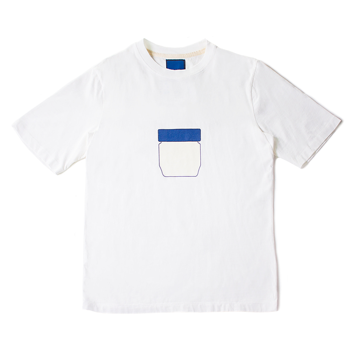 [DOCUMENT] U69 VASELINE TEE 'WHITE'