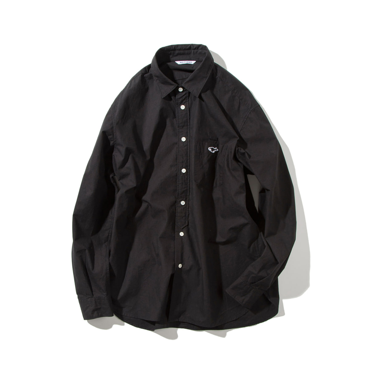 [NEITHERS] 209-3 COMFORT SHIRT 'BLACK'