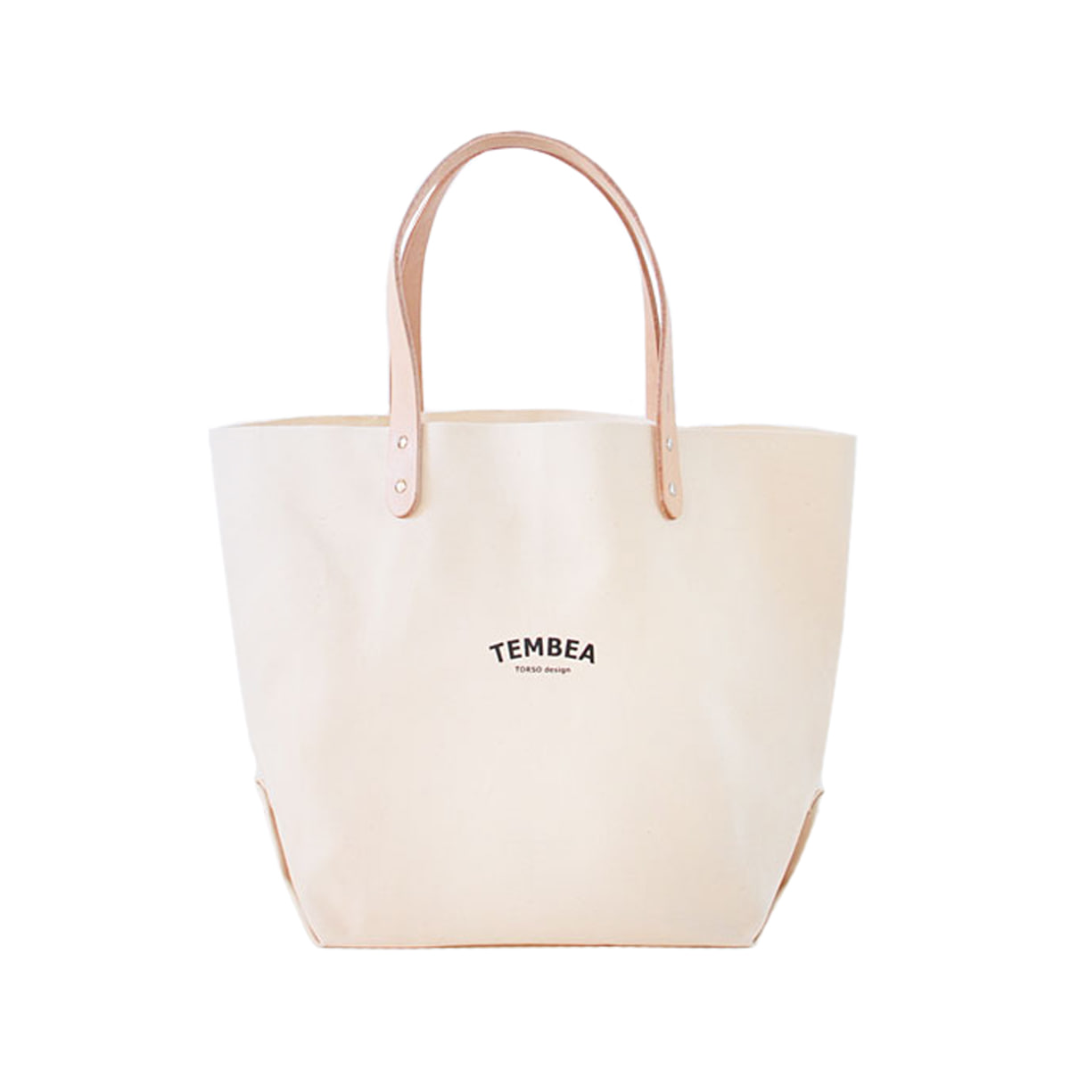 [TEMBEA] DELIVERY TOTE LARGE 'NATURAL'