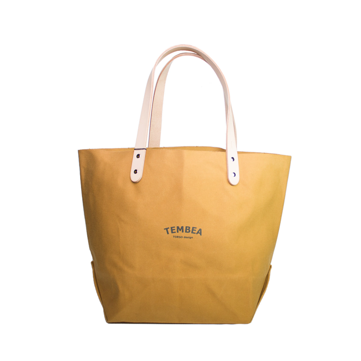 [TEMBEA] DELIVERY TOTE LARGE 'NEW BEIGE'