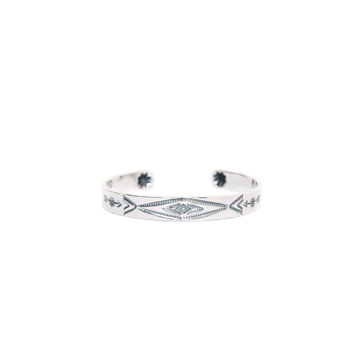 [NORTH WORKS] 900 SILVER CUFF BRACELET 'W-009'