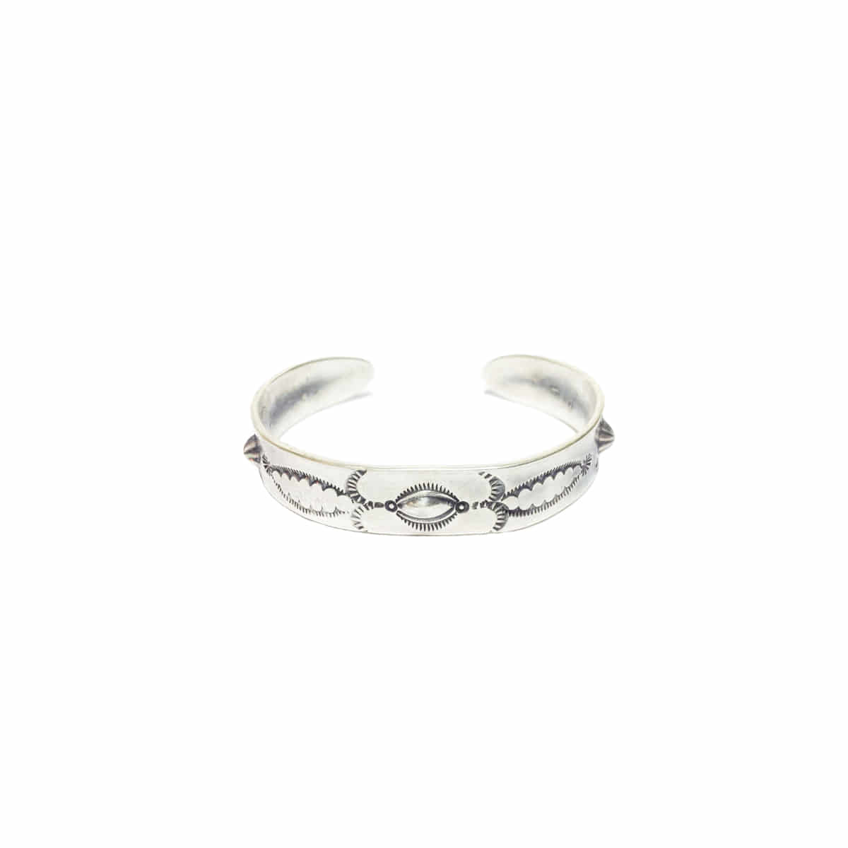 [NORTH WORKS] 900 SILVER CUFF BANGLE 'W-004'