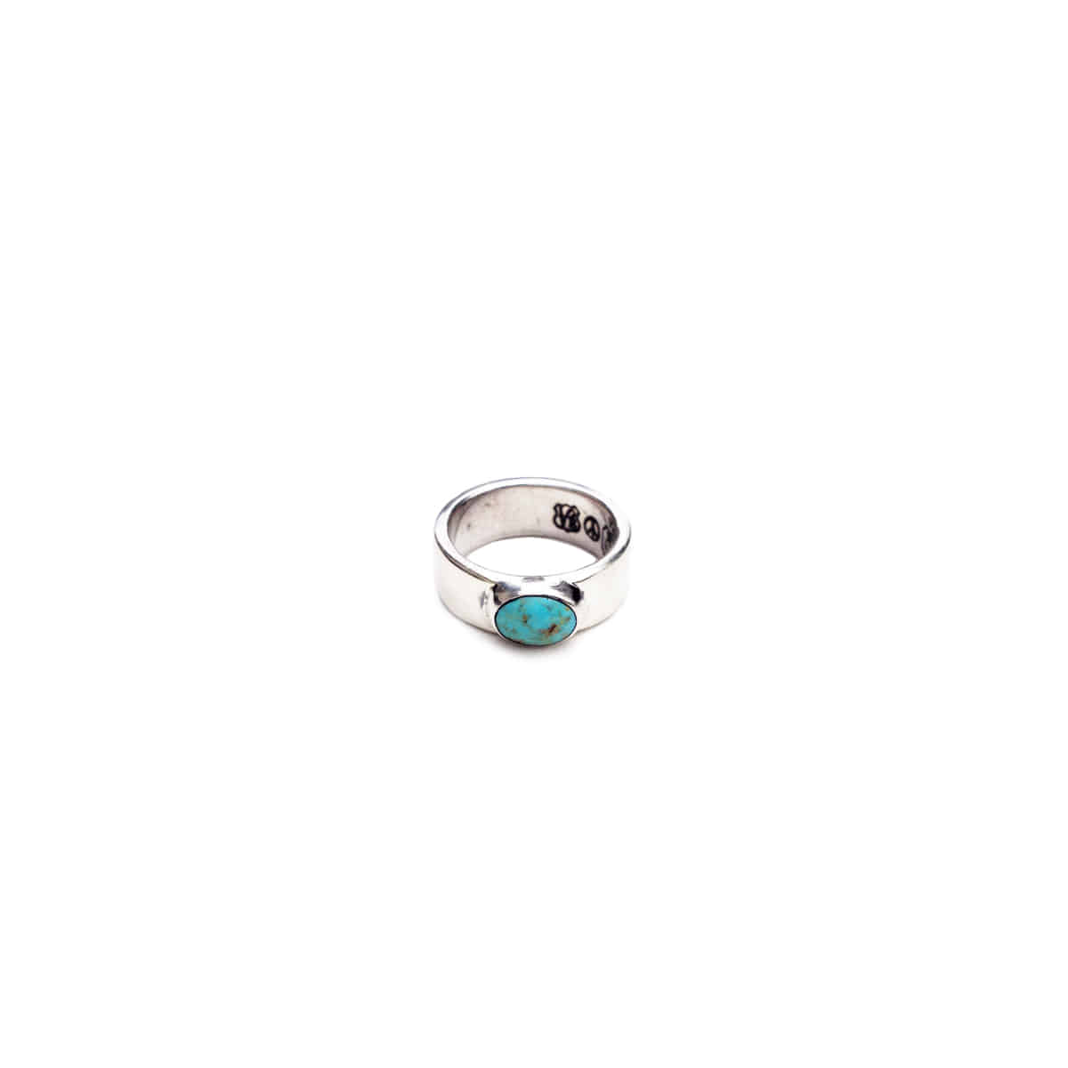 [NORTH WORKS] 900 SILVER TURQUOISE RING 'W-027'