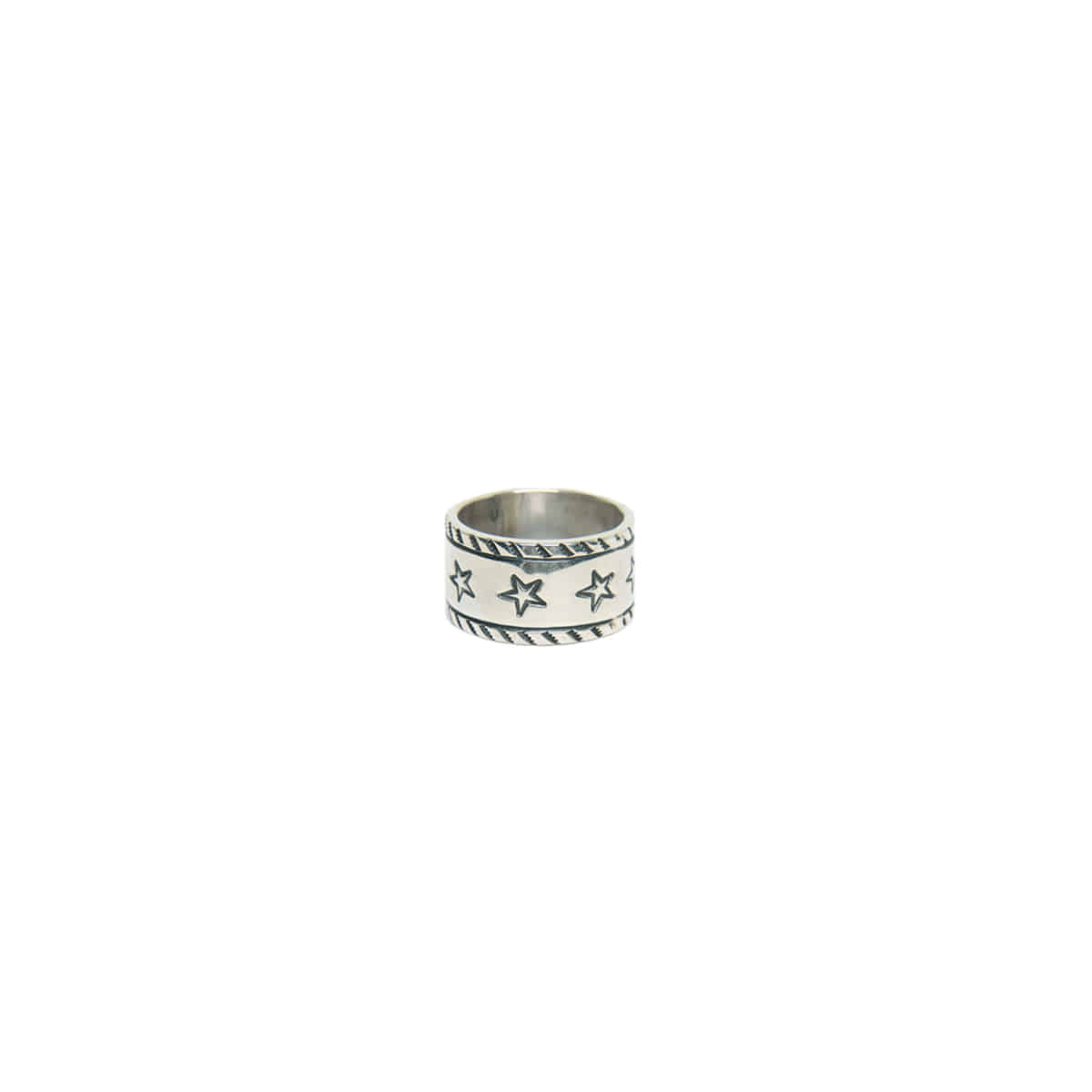 [NORTH WORKS] 900 SILVER STAMP RING 'W-053'