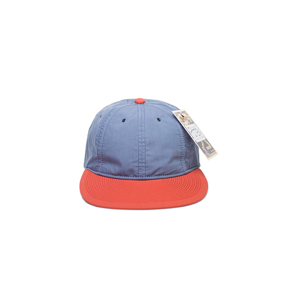 [POTEN] CN-TYPE 2 BASEBALL CAP 'BLUE / RED'