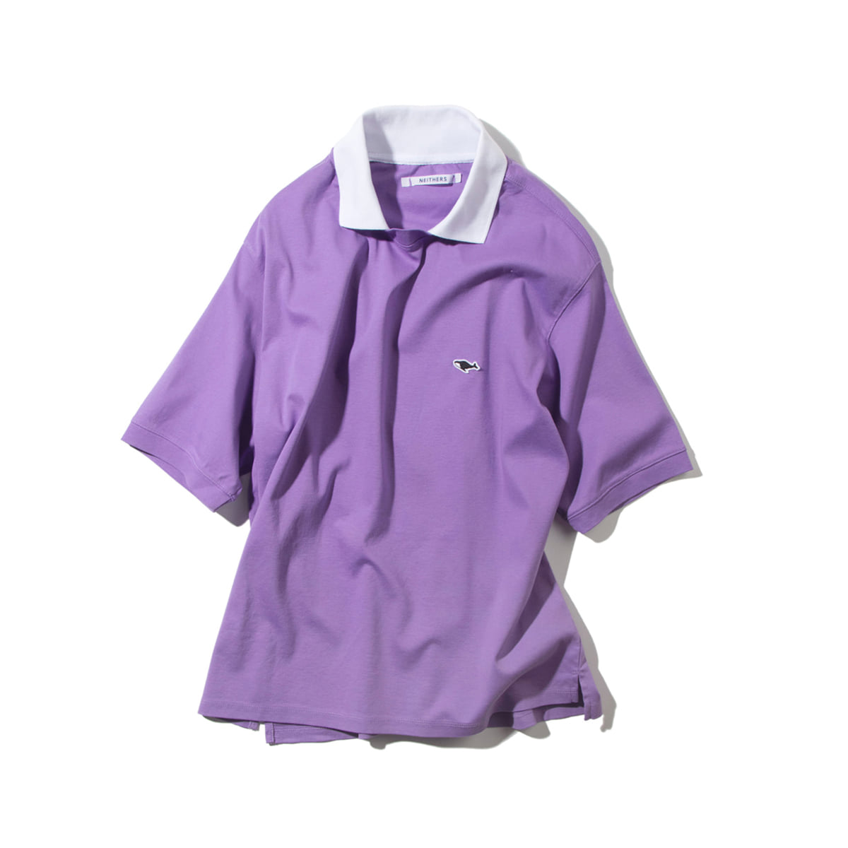 [NEITHERS] 202-1 COLLAR T-SHIRT 'PURPLE'