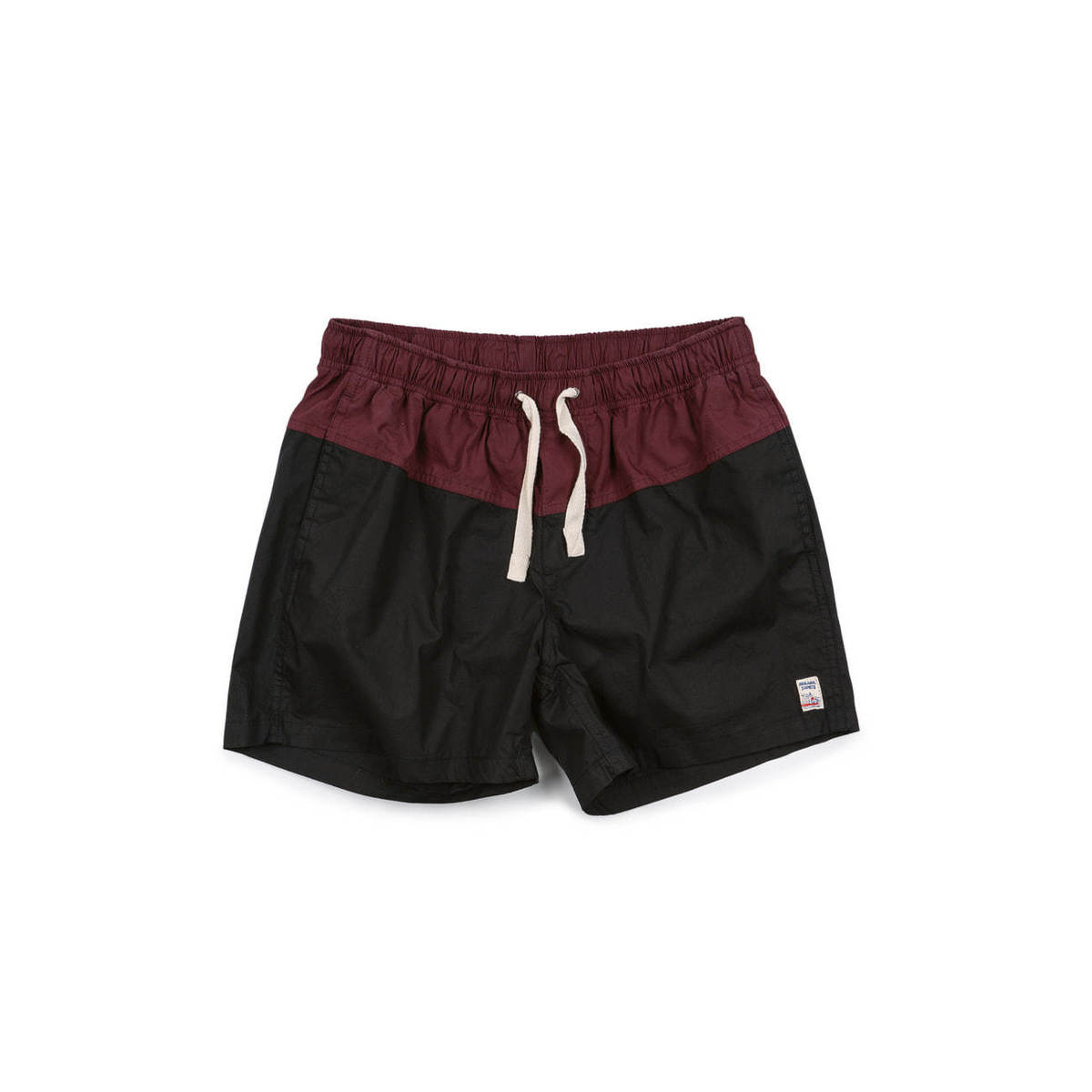 [M.Nii] BASIC DROWNER TRUNK 'BLACK & WINE'