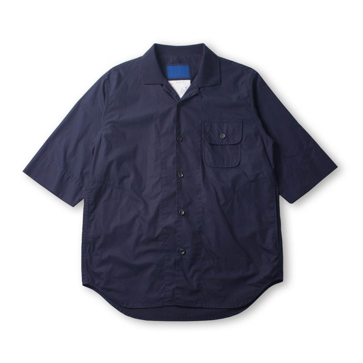 [DOCUMENT] M123 CAFRI SHIRT 'NAVY'