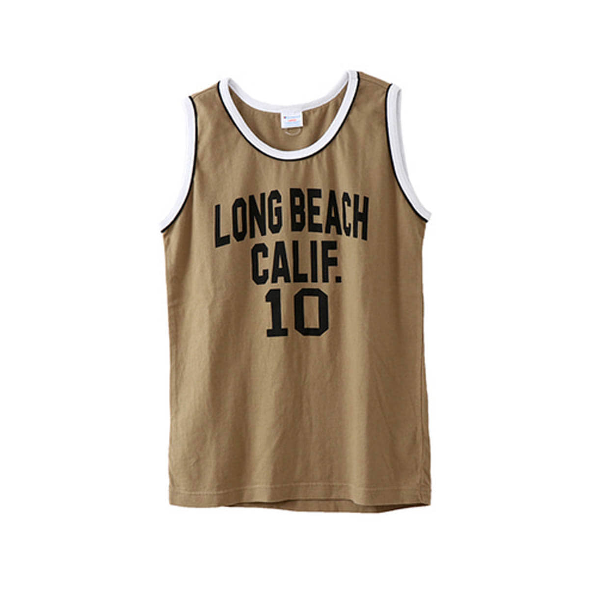 [CHAMPION] CAMPUS TANK TOP 'KHAKI' (C3-M335)