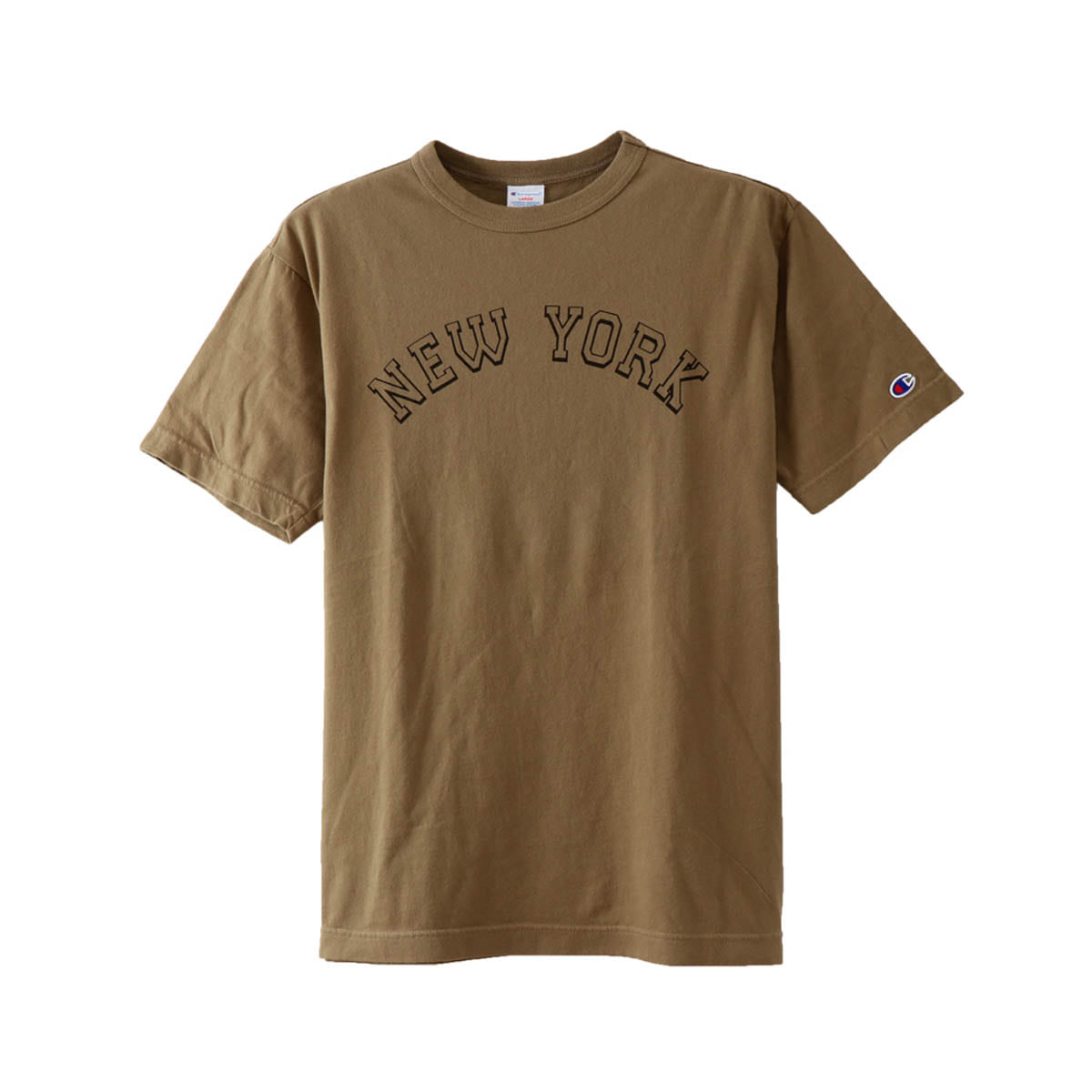 [CHAMPION] CAMPUS T-SHIRT 'KHAKI' (C3-M329)