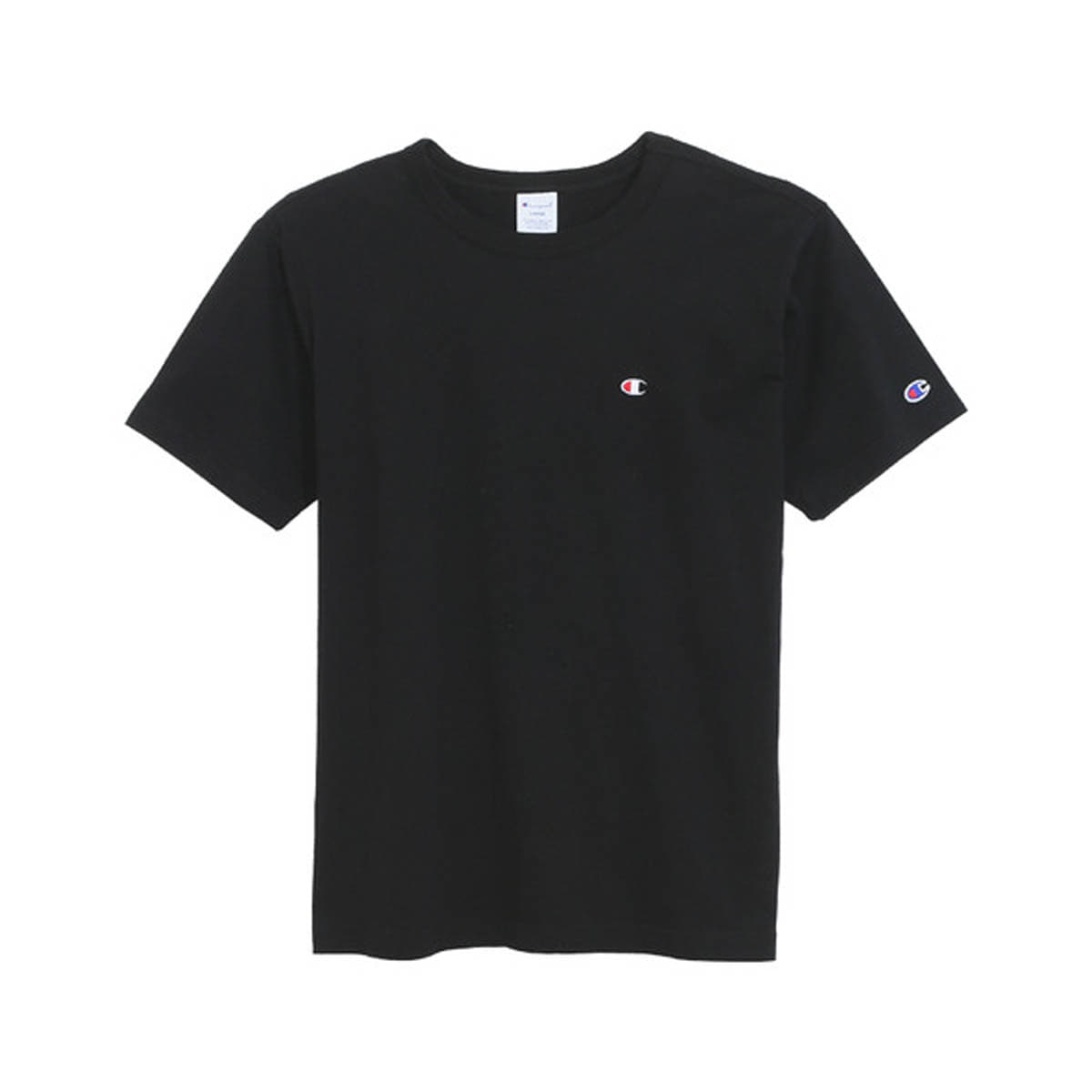 [CHAMPION] BASIC T-SHIRT 'BLACK' (C3-H359K)