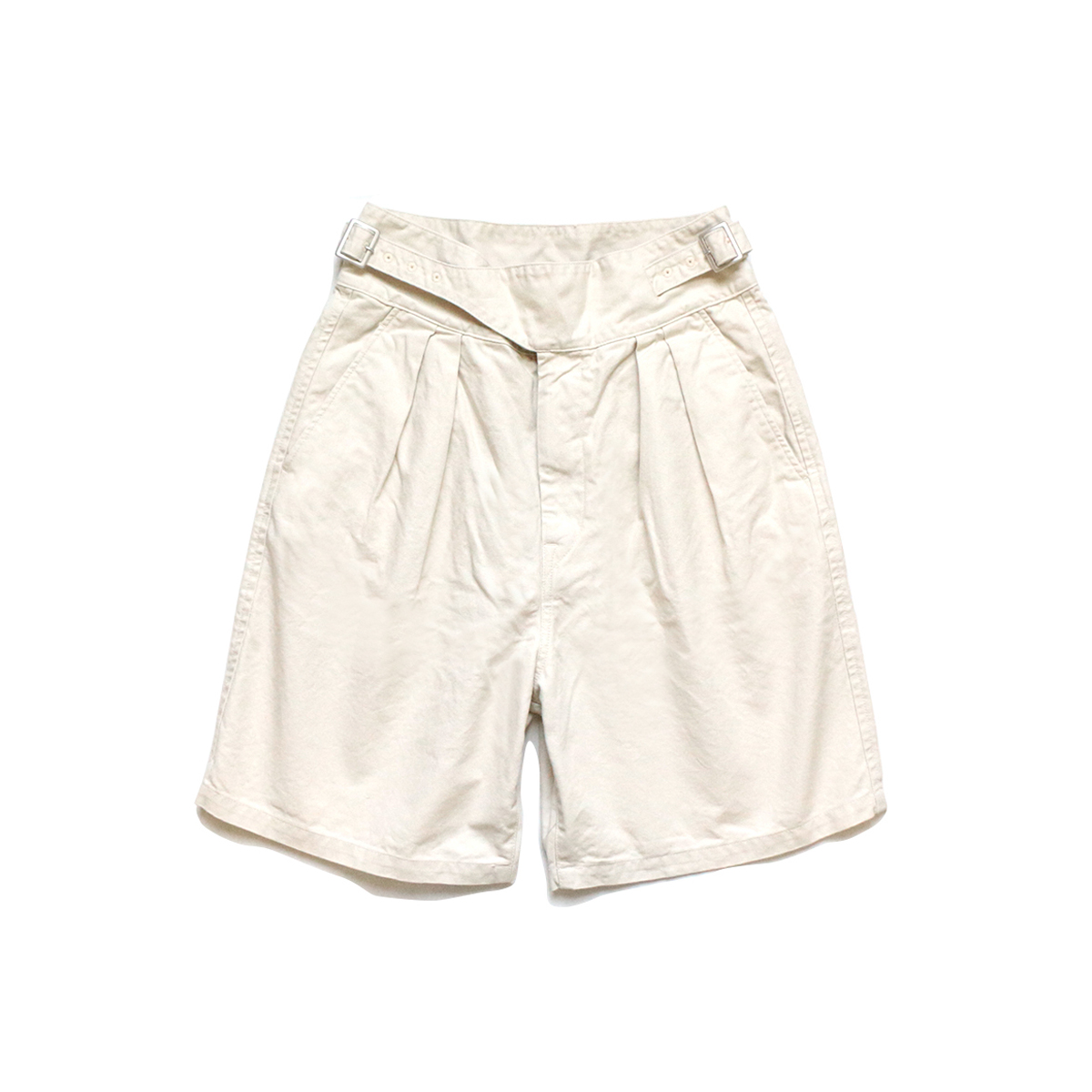 [KAPITAL] LIGHT CANVAS GRUKHA SHORT 'NATURAL'