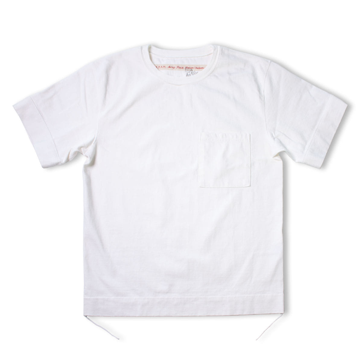 [KAPITAL] DI-PACK JERSEY ARMY PACK T 'WHITE'