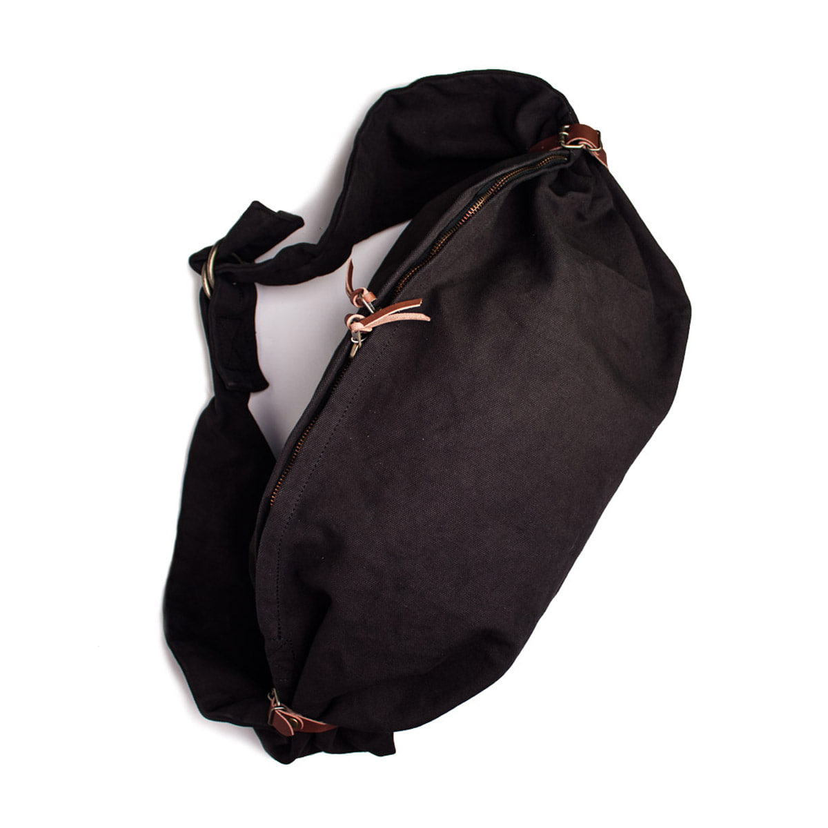 [KAPITAL] SAIL CLOTH LITTLE SNUFKIN BAG 'BLACK'