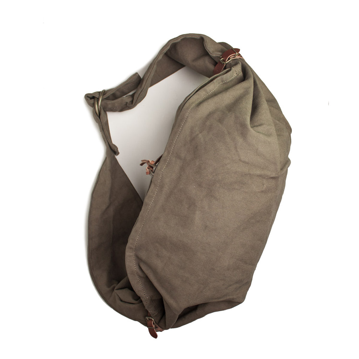 [KAPITAL] SAIL CLOTH LITTLE SNUFKIN BAG 'KHAKI'