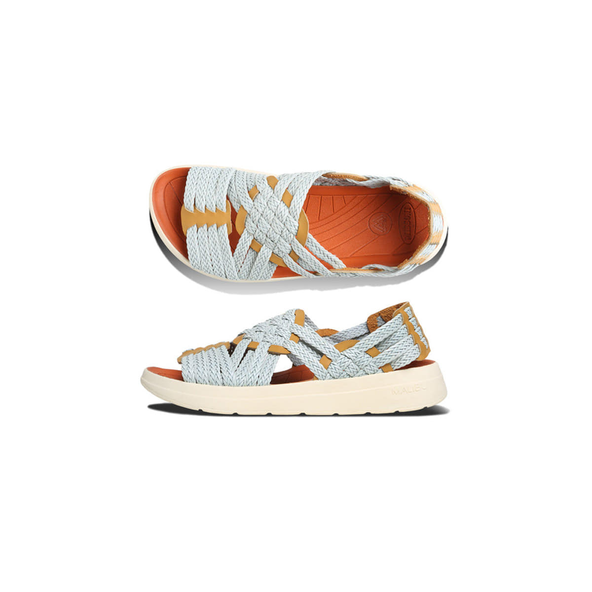 [MALIBU SANDALS] MISSONI x MALIBU CANYON 'LIGHT BLUE YELLOW'
