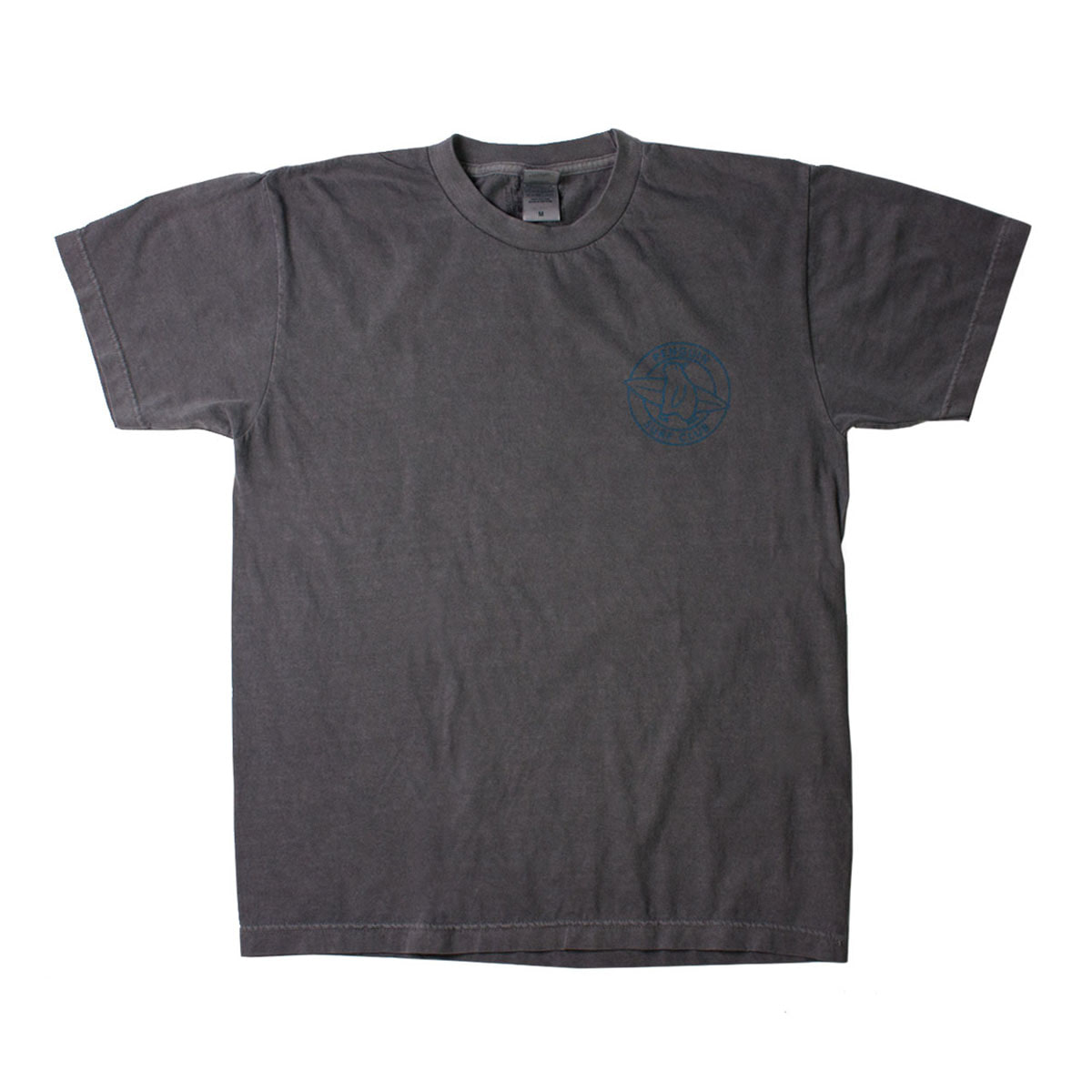 [BIGWAVE] PENGUIN SURF CLUB TEE 'VINTAGE BLACK'