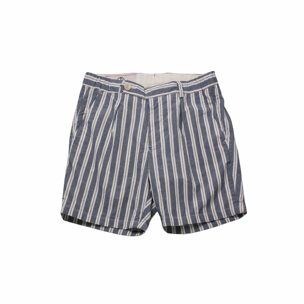[EAST HARBOUR SURPLUS] OGIMA STRIPE SHORTS 'BLUE'