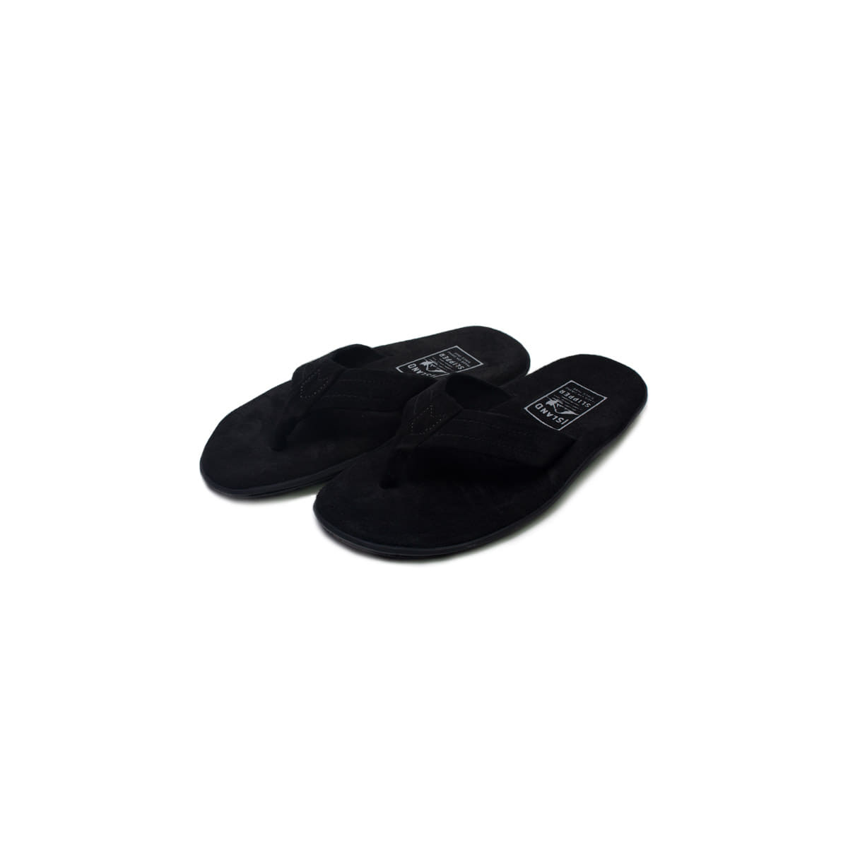 [ISLAND SLIPPER] PB203 'BLACK SUEDE'