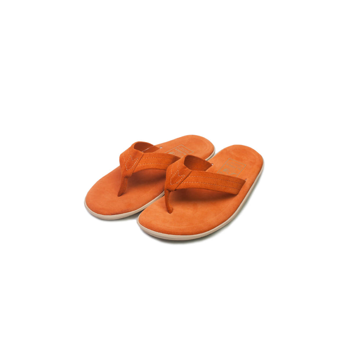 [ISLAND SLIPPER] PT203 'ORANGE SUEDE'